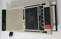 Califone Full Auto Stop Cassette Recorder PLayer 3432AV - Vintage.