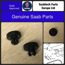 GENUINE SAAB 9-3 04-> CV CONVERTIBLE BOOT LID HINGE STOPS 12832495 X2 - NEW