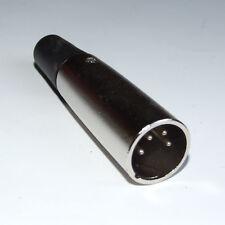Spina XLR 4 pin, connettore di alimentazione o AUDIO 12 o 24 V BATTERIA