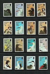 Ascension Island: 1997  Birds and their Young, definitive set,  MNH