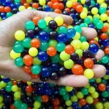 50pcs Water Plant Flower Jelly Hydro Gel Pearl Beads Balls Crystal Soil Mud