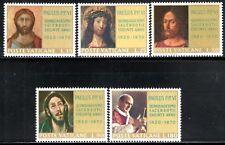 (Ref-12376) Vatican City 1970 Pope Paul's Ordination Anniv SG.539/543 Mint (MNH)