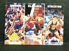 Michael Jordan 1993-94 NBA Hoops League Leaders Steals #289 Stockton Blaylock