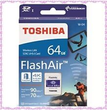 TOSHIBA abilitata LAN wireless Scheda di memoria SDXC 64GB Class 10 UHS 1 Flash Aria SD-UWA