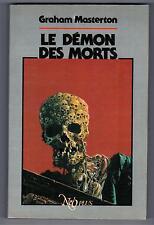 """""""LE DEMON DES MORTS"""" GRAHAM MASTERTON (1986) NUMEROTé et SIGNé  PJOSWALD / RARE"""