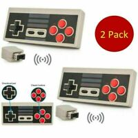 2PCS Wireless Mini Gamepad Controller Receiver für NES Classic Edition Konsole