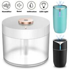 Ultrasonic Humidifier Cool Mist Air Purifier Usb Led Light Mini Portable 780Ml