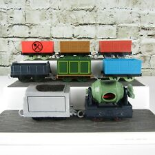 Thomas The Tanke Engine Lot of (8) Different Plastic Train Engine Cars Tenders