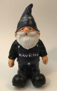 Baltimore Ravens NFL Team Gnome Ornament by Forever Collectibles NEW