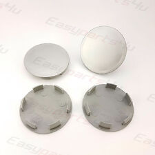 4x ALLOY WHEEL CENTRE HUB CAPS | Outer 64mm - Inner 58mm | VW, Audi