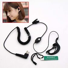 Motorola Radio G-Shape Ear Piece Earbone Earbuds Earset Earphone Mic Security
