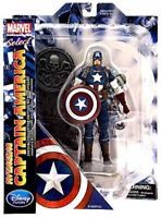 "New Marvel Diamond Select Avenging Captain America 7"" Action Figure"