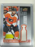 2019-20 Upper Deck Series 1 UD Game Jersey Shayne Gostisbehere Flyers