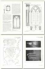 1911 Stone Church, Kent, Windows, Design, Plan