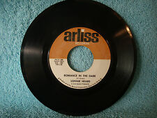 Lonnie Heard. A Sunday Kind Of Love / Romance In The Dark, Arliss, 1006 Doo Wop