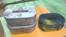 Vintage-Cast iron-  Scale Weights - Counter Balance- Mercantile - heavy- 4