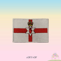 Northern Ireland National Flag Embroidered Iron On Patch Sew On Badge