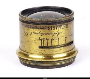 Lens Brass Hermagis Alpanastigmat F=7  210mm