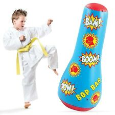 Hoovy Inflatable Punching Bag for Kids: Free Standing Boxing Toy for Children...