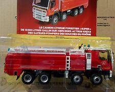 N°61 MERCEDES ACTROS Camion Pompier Citerne Forestier CCFS  1/43 Neuf en boite
