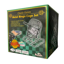 Deluxe Metal Bingo Cage Set NEW
