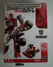 Transformers Construct Bots IRONHIDE Scout Class E1:01 NEW in Package