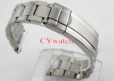 Corgeut strap 21mm 316L Solid stainless steel bracelet for 43mm mens watch P400