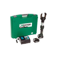 Greenlee Esc50lx12 2 Cable Cutter With Two 40ah Batteries 12v Charger Amp Case