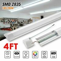 4FT Linear LED Shop Light 44W Flush Mount for Garage Workshop Home Neutral White