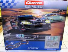 "Carrera Digital 132 Startset ""GT Force"" mit 5,7m Strecke -30177 NEUWARE +OVP"