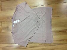 lacoste ladies knitwear dusty pink Large