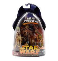 Star Wars ROTS Wookiee Warrior Sneak Preview Action Figure