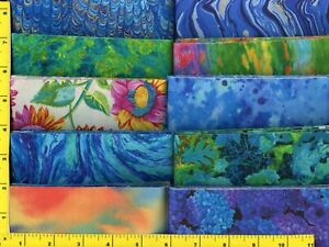 """Sunrise Spendor Jelly Roll 40 - 2.5"""" Strips Quilting & Sewing Fabric"""