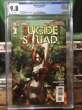 Suicide Squad #1 (DC Comics 2011) 💥 CGC 9.8 💥 HARLEY QUINN NEW 52 Comic
