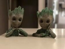 "Guardians of The Galaxy Vol. 2 Baby Groot 6"" Figure Brush Pot Flowerpot.."