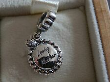 BN GENUINE PANDORA LOVING MOTHER PENDANT CHARM-791127CZ