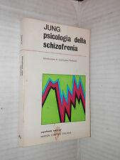 PSICOLOGIA DELLA SCHIZOFRENIA Carl Gustav Jung Newton Compton 1970 libro di