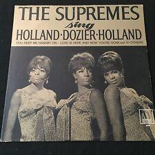 Mono Original Supremes Sing Holland / Dozier / Holland Motown + Motown Inner