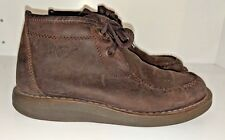 Vintage Dr. Martens Ankle Boots Women's Booties Lace Up 2823 Brown Suede Shoes 6