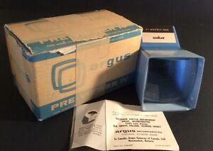 VTG Argus Pre-Viewer IV 35mm Slide Viewer w/Box & Instructions
