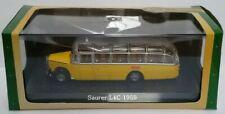SAURER L4C MODEL COACH BUS 1:76 SCALE ATLAS IXO 1959 SWISS POST SONDERFAHRT