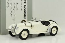 BMW 328 Roadster creme 1936 1:18 Minichamps Dealer Diecast