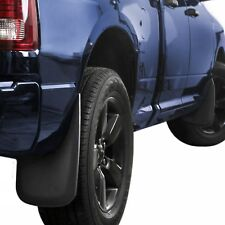 Dodge Ram Mud Flaps 2009-2018 Mud Guards Splash Guards Molded 4 Piece Front Rear