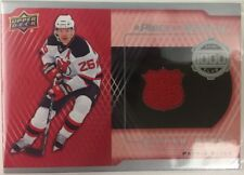2016-17 Upper Deck A Piece of History 1000 Point Club Jersey Patrik Elias Devils