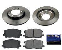Brembo Front Brake Kit Ceramic Pads Disc Rotors for Toyota Tacoma RWD 95-97