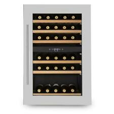 [OCCASION] Klarstein Cave à vin encastrable 128L 41 bouteilles porte inox