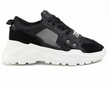 Versace Jeans Couture E0YVBSC4 71381 Mens Chunky Sole Trainers Black Sneakers