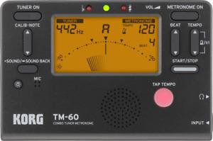 ACCORDEUR METRONOME  KORG TM60 NOIR