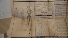 Vintage VOGUE PATTERN S-4946 Special Design One-Piece Dress Sz