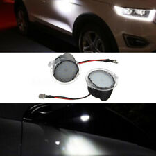 2x High Power White LED Side Mirror Puddle Lights For Ford F150 2009-2014 Edge